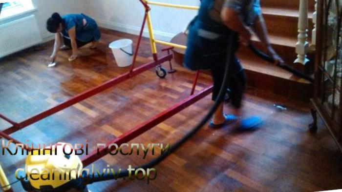 прибирання в котеджі Львів
