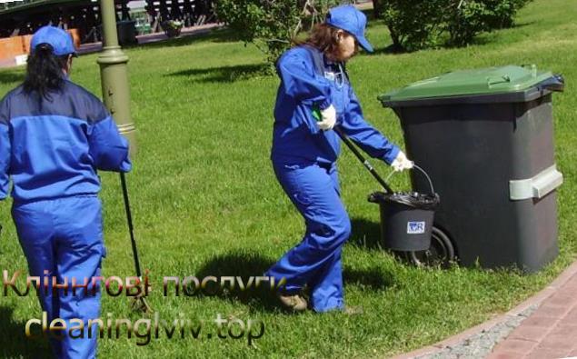 прибирання території Львів