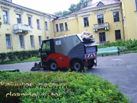 прибирання прибудинкових територій Львів