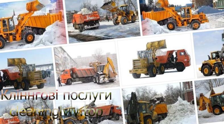 прибирання снігу Львів